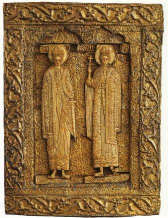 Ікона із зображенням Св. Бориса та Гліба