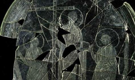 Знайдена пластина IV століття із зображенням Ісуса